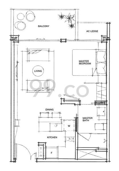 Katong Regency - Configuration A1
