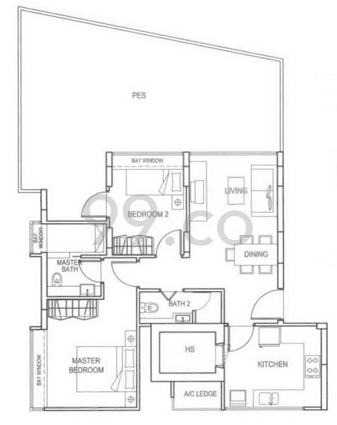 St. Patrick_s Loft - Configuration A