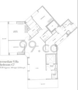 Belle Vue Residences - Configuration C7