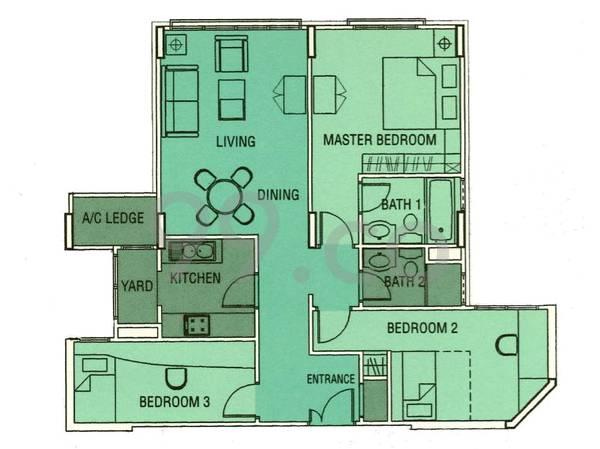 Simei Green Condominium - Configuration A
