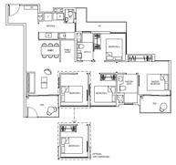4 Bedrooms Type 4C1G