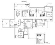 4 Bedrooms Type 4LG