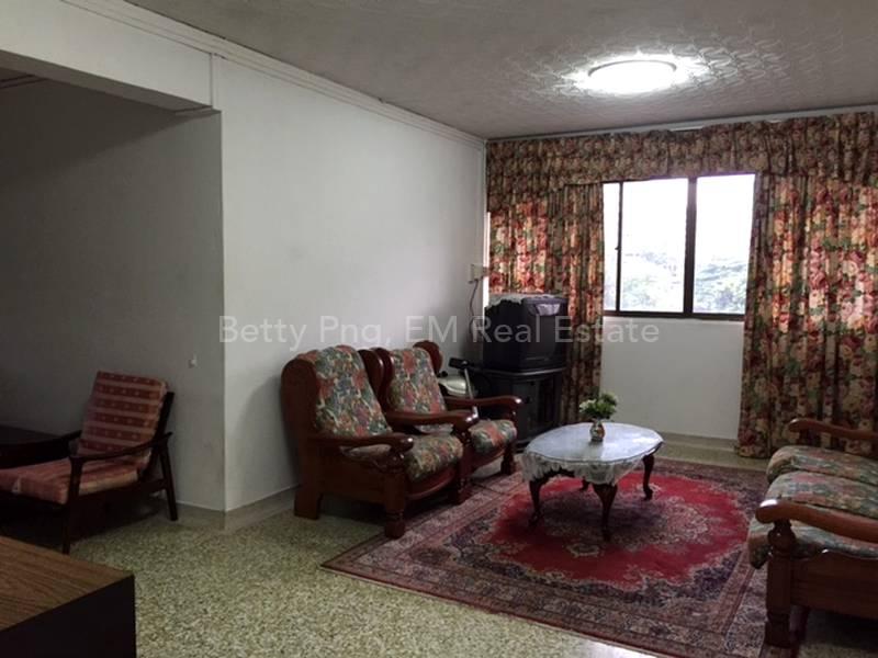 25 Telok Blangah Living Area