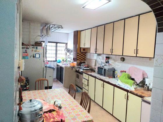 Long kitchen