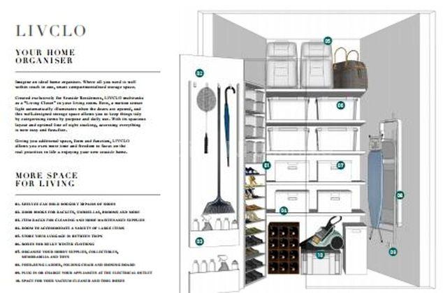 Livclo organized storage by Frasers