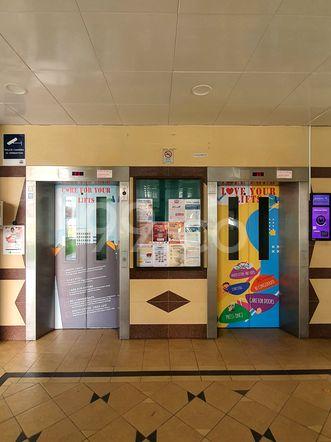 HDB-Hougang Block 580 Lift HDB-Hougang