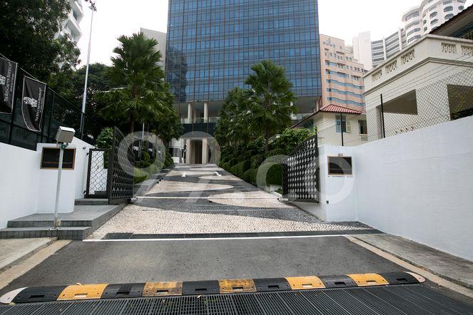 The Ritz-Carlton Residences Singapore, Cairnhill The Ritz-Carlton Residences - Entrance