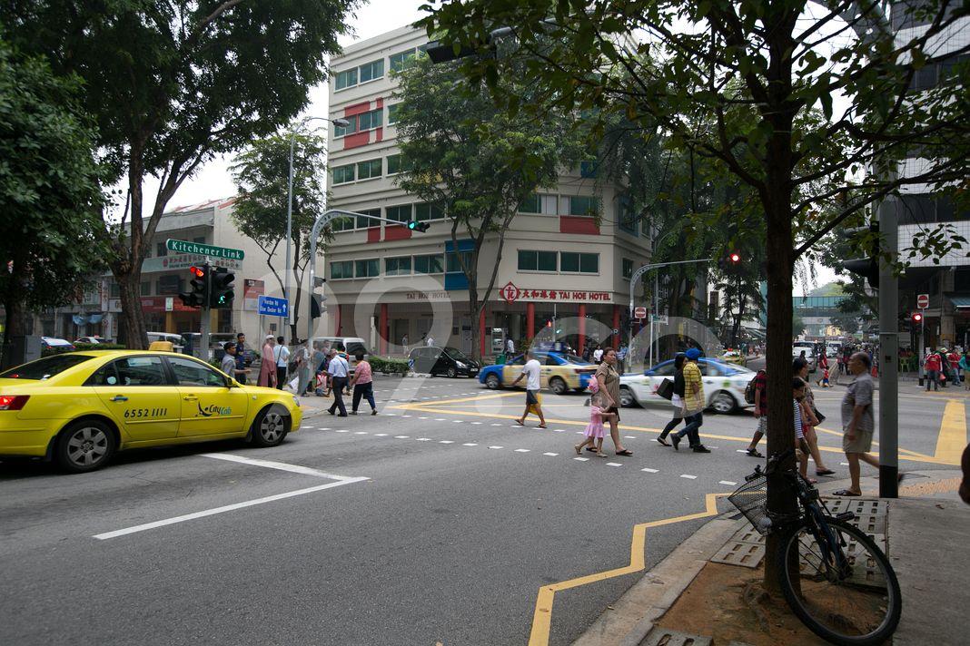 City Square Residences  Street