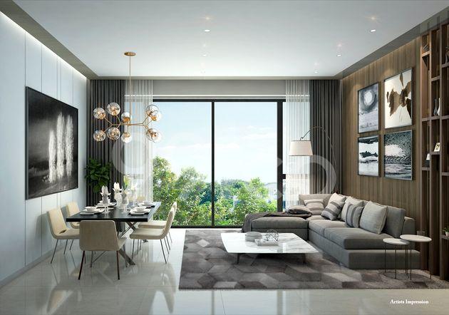 Sea Pavilion Residences Living Room
