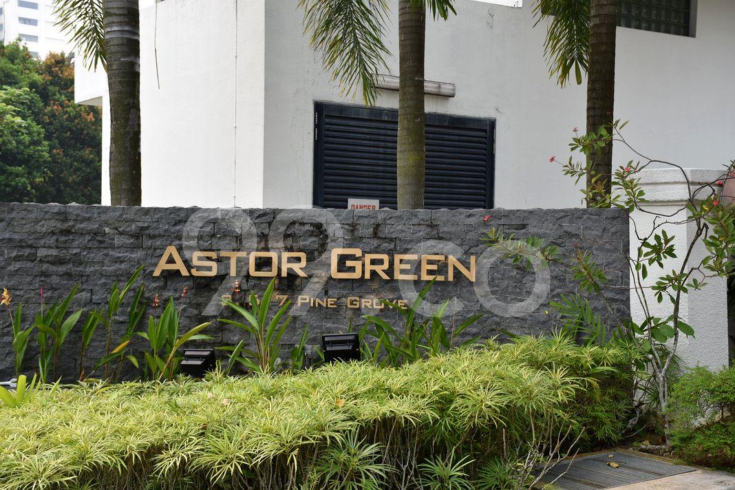 Astor Green  Logo