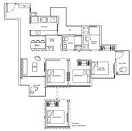 3 Bedrooms Type 3D2