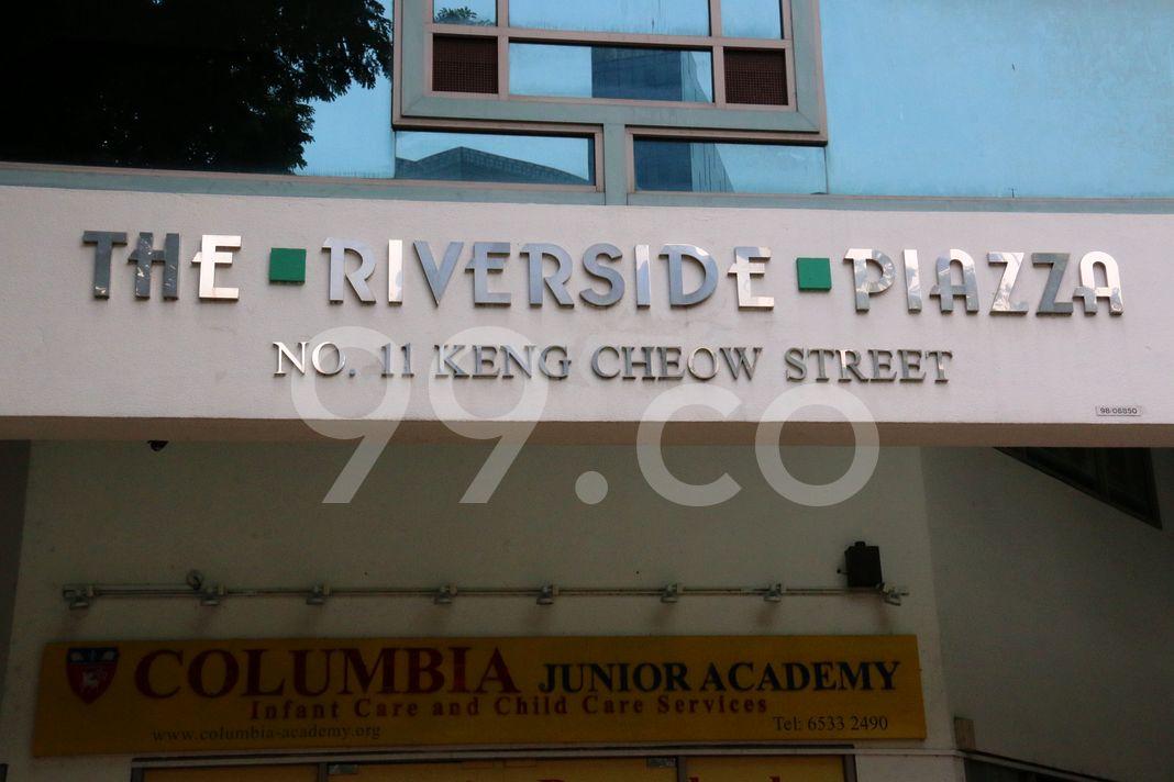 The Riverside Piazza  Logo