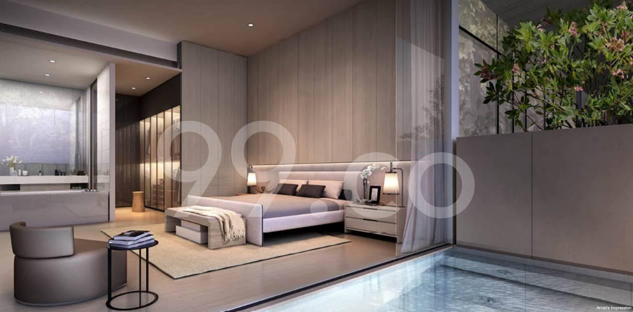 Cluny Park Residence Bedroom