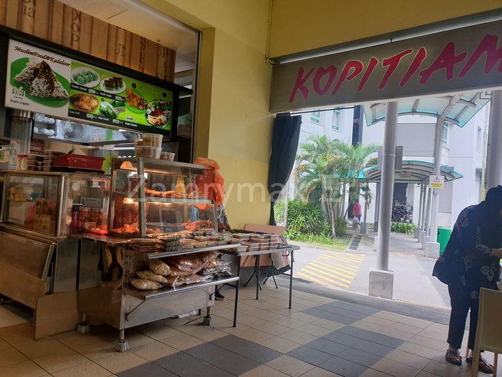 coffeeshop just across the road, beside Kadaloor LRT