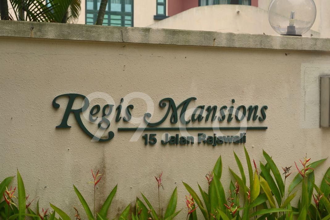 Regis Mansions  Logo