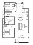 2 Bedrooms Type B10