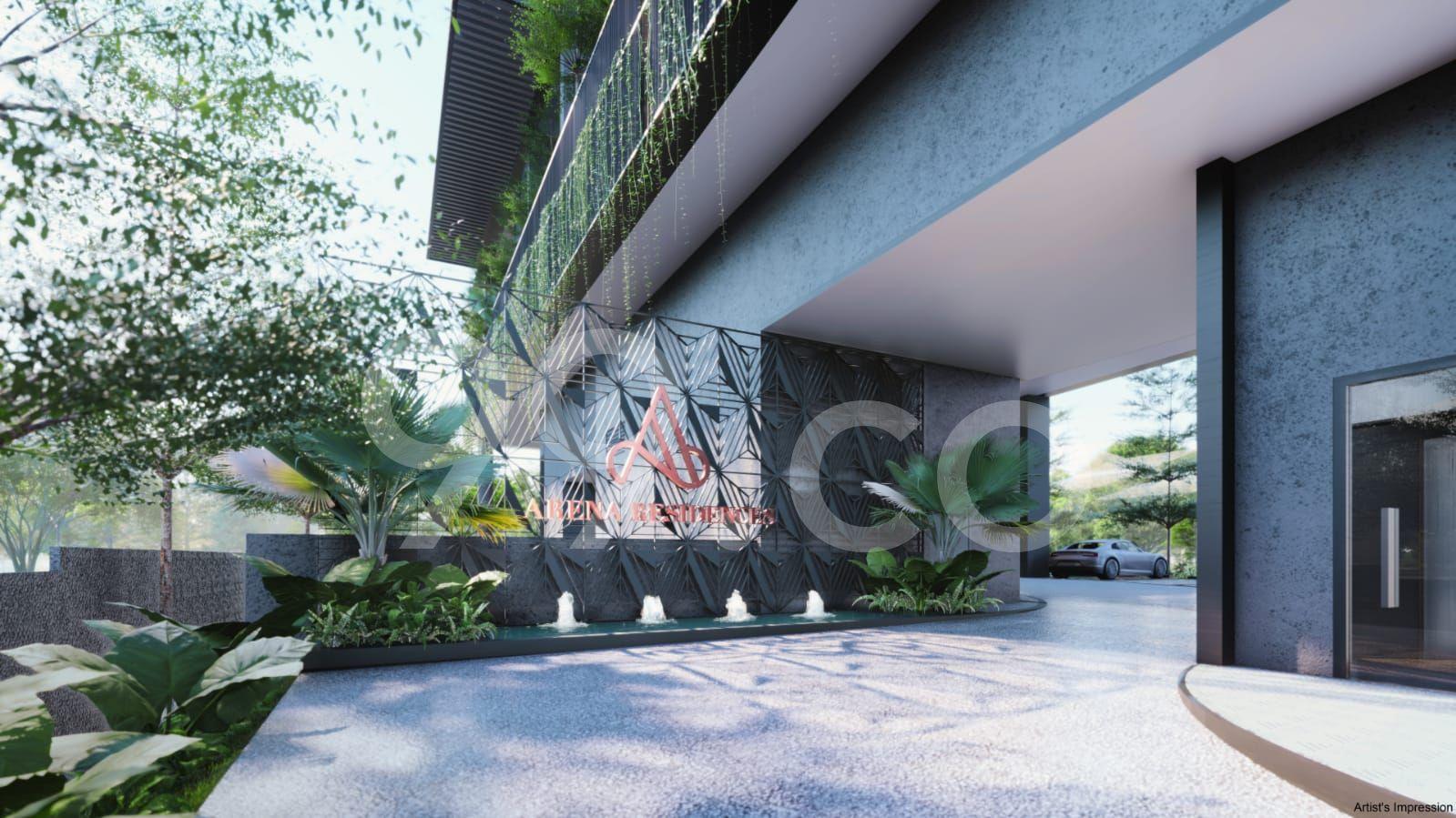 Arena Residences Entrance