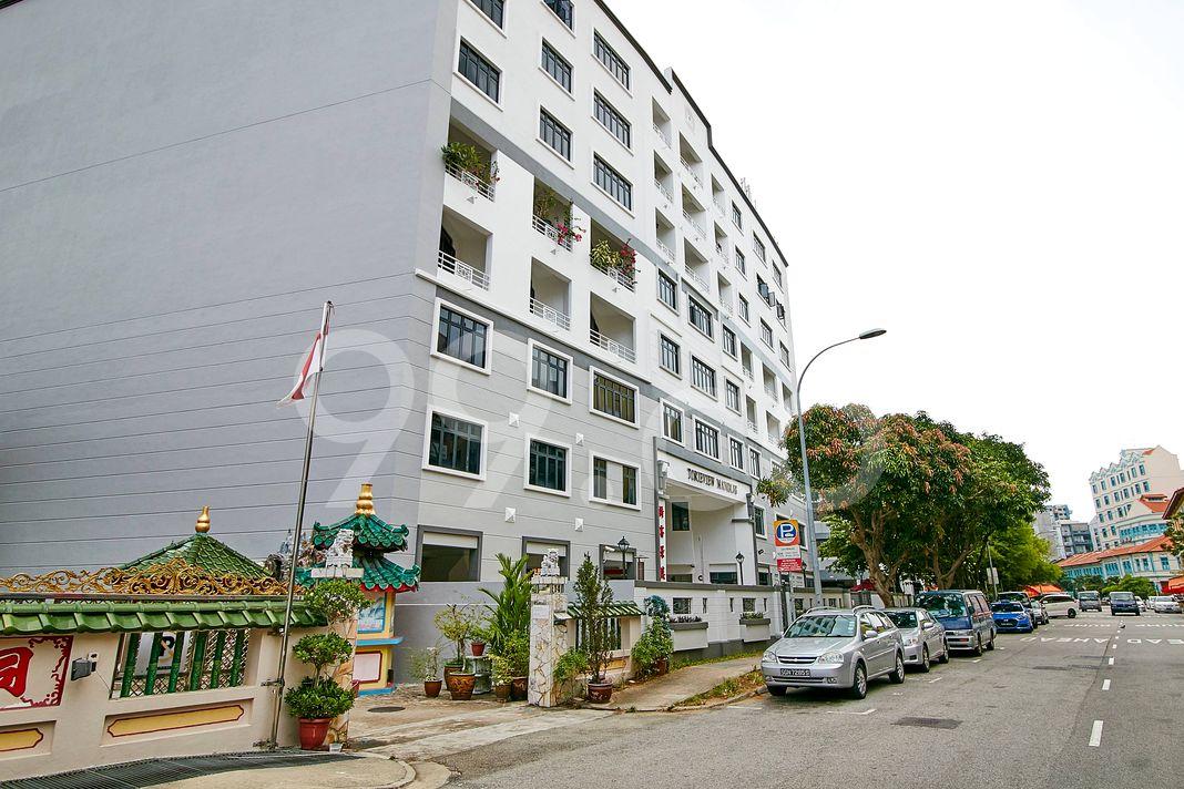 Torieview Mansions  Street