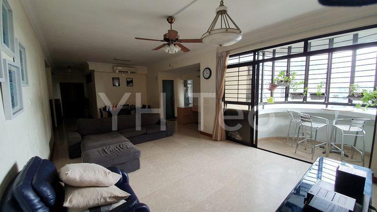 Balcony in living hall
