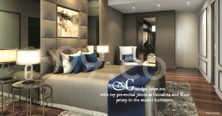 Kismis Residences Bedroom