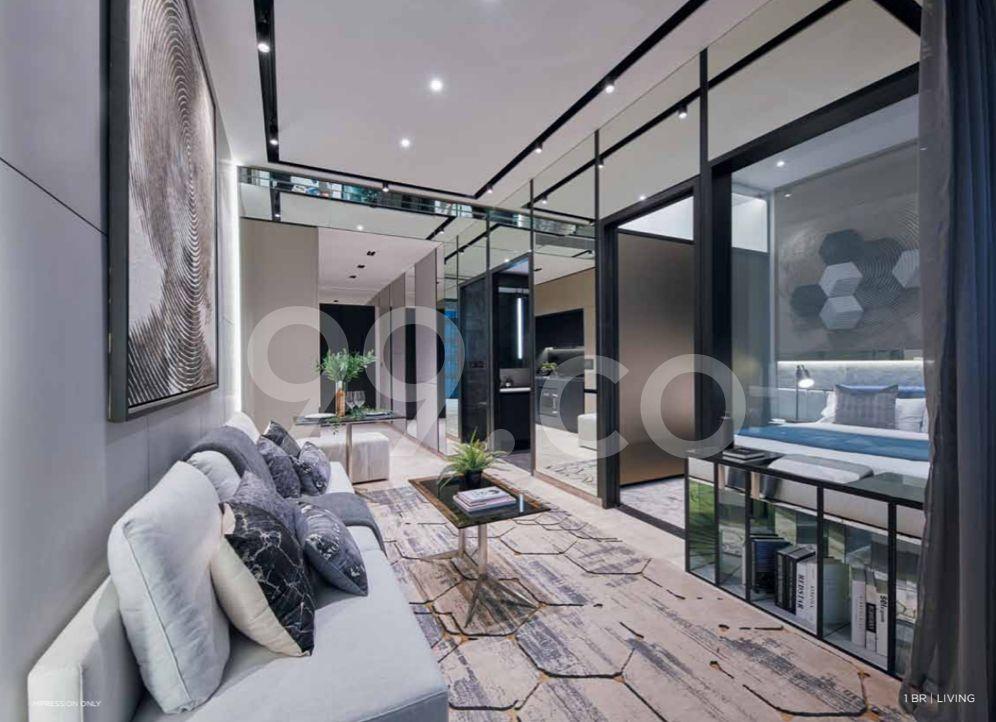 Jui Residences Living Room