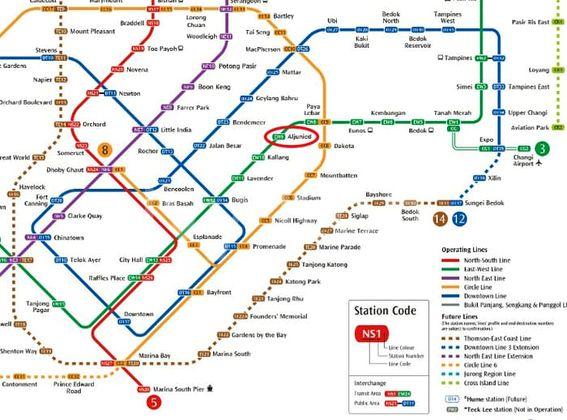 Penrose MRT Line