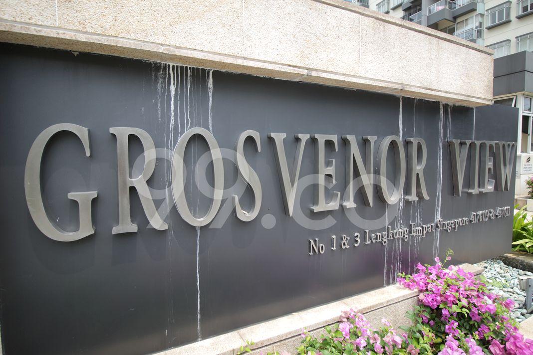 Grosvenor View  Logo