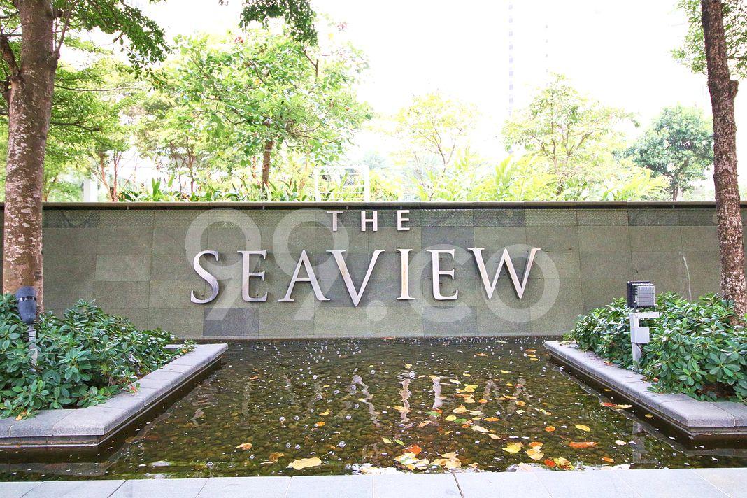 The Sea View  Logo