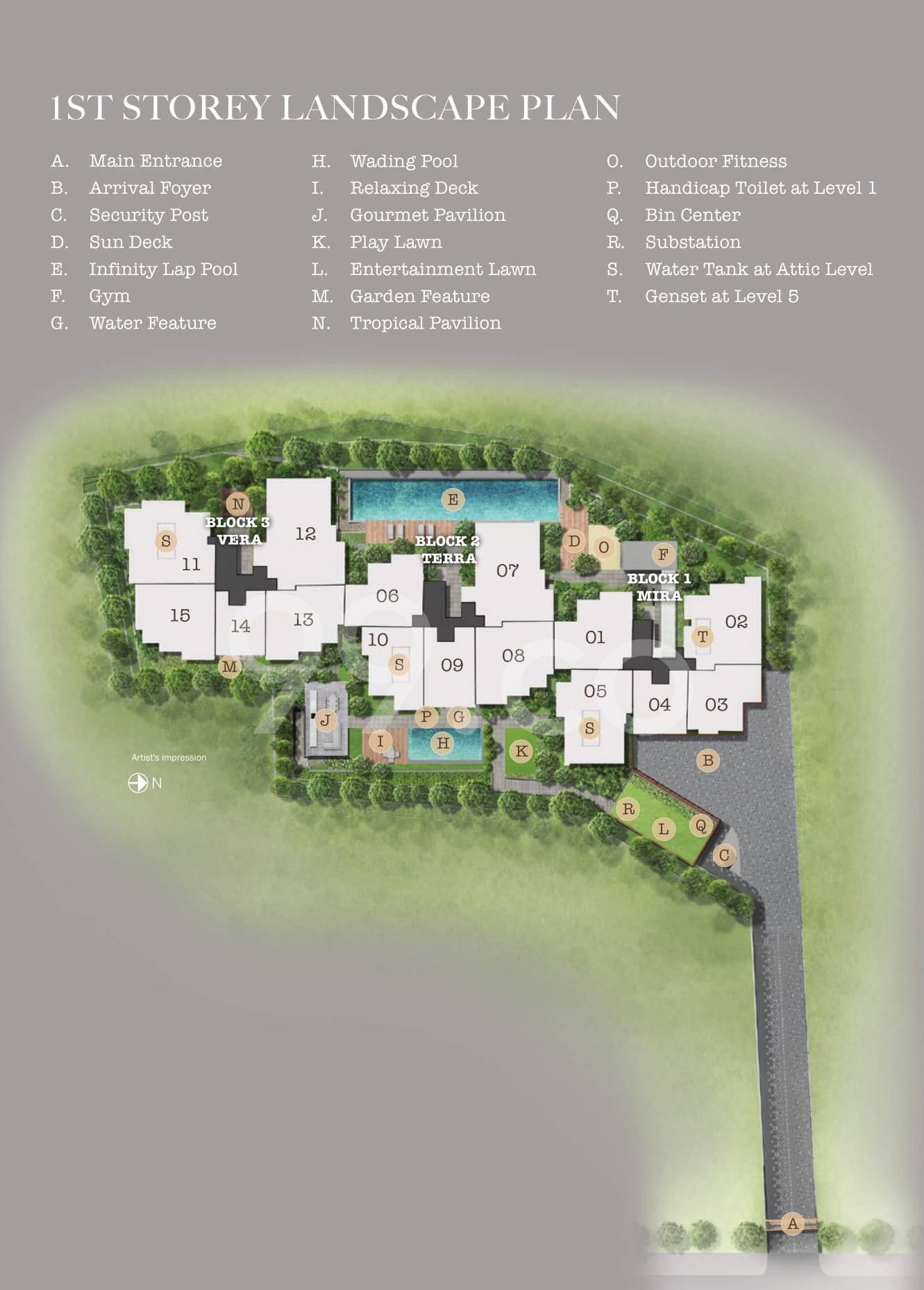 35 Gilstead site plan