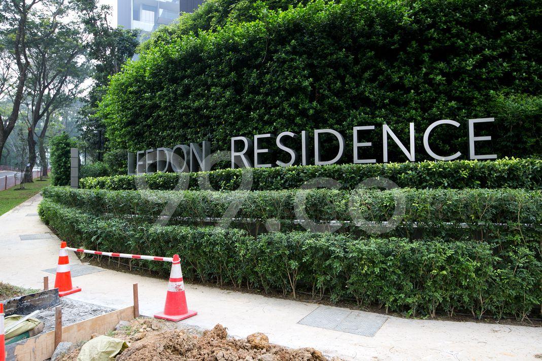 Leedon Residence  Logo
