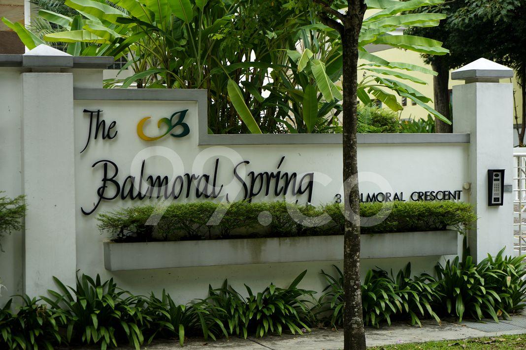 The Balmoral Spring  Logo