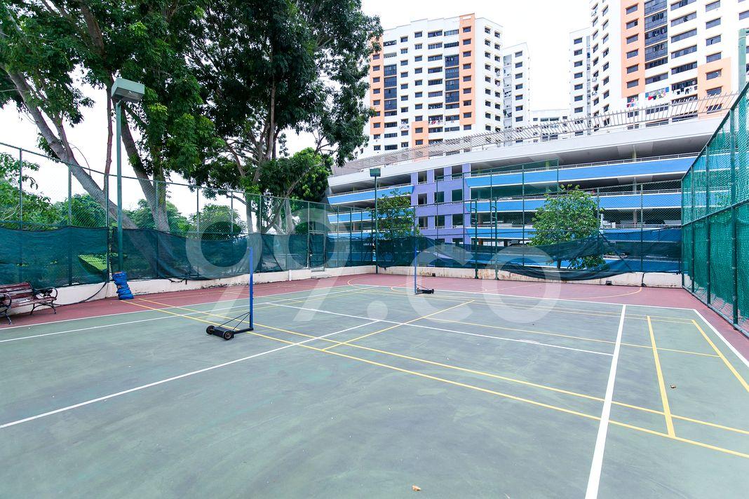 Aquarius By The Park  Badminton Court