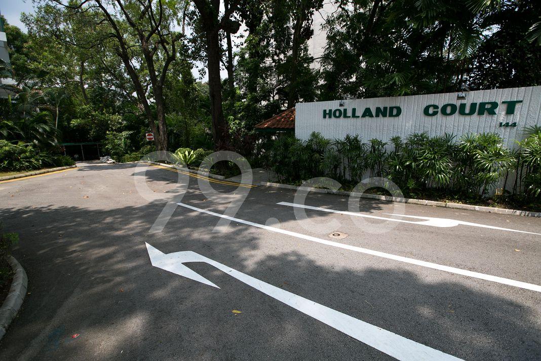 Holland Court  Entrance