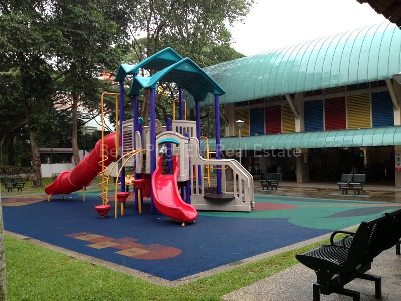 Playground at Telok Blangah Market and Food Centre