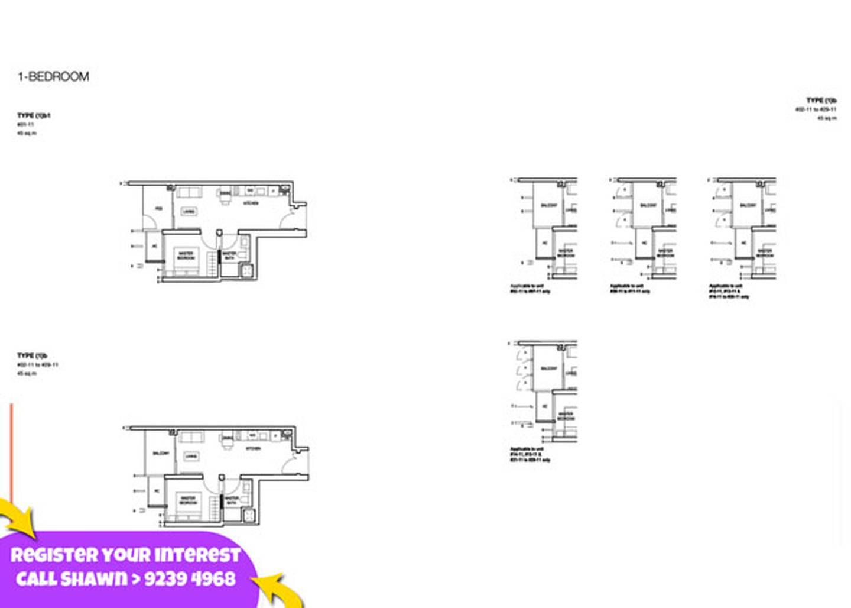 Midwood - 1 Bedroom Floor Plan