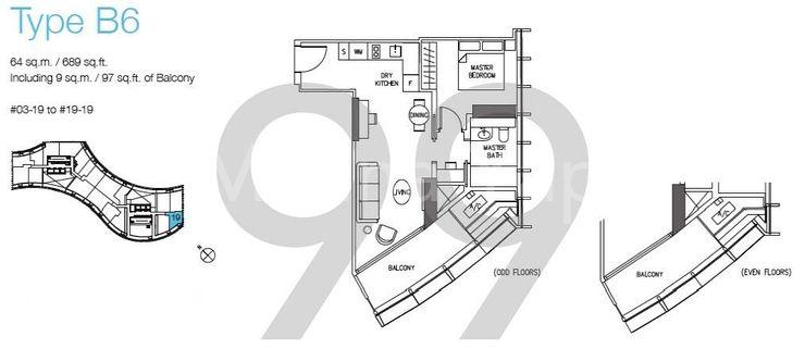 DUO Residences - Configuration B6