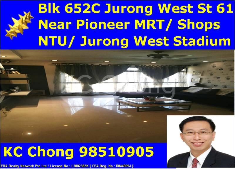 Blk 652C Jurong West St 61 Living Hall