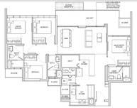 4 Bedrooms Type PH1