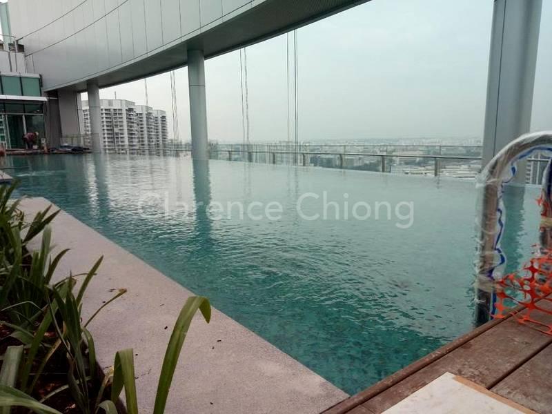 Swimming pool at 17th storey
