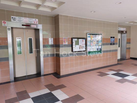 Huge, Clean & Bright Lift Lobby
