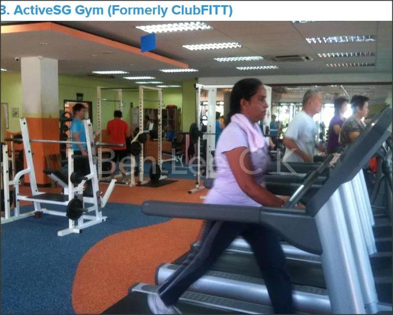 Hougang Sport Complex public gym per entry $3.50