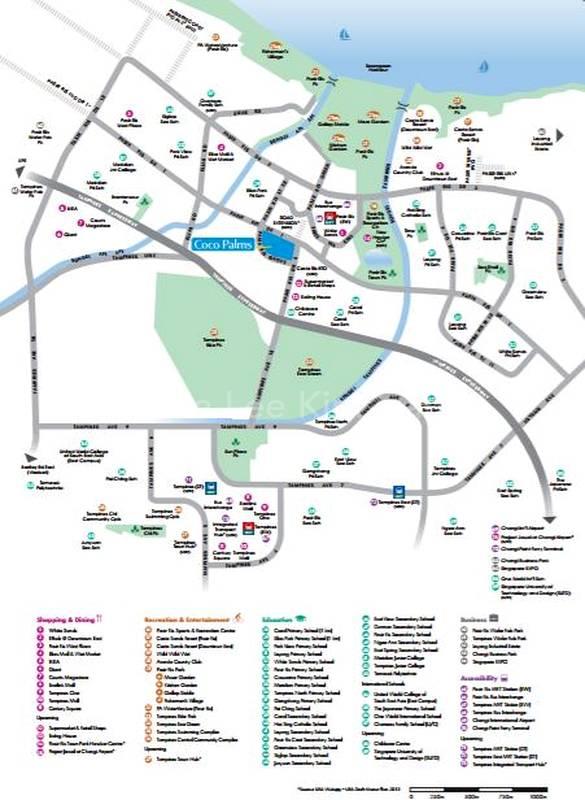 Map Around Coco Palms