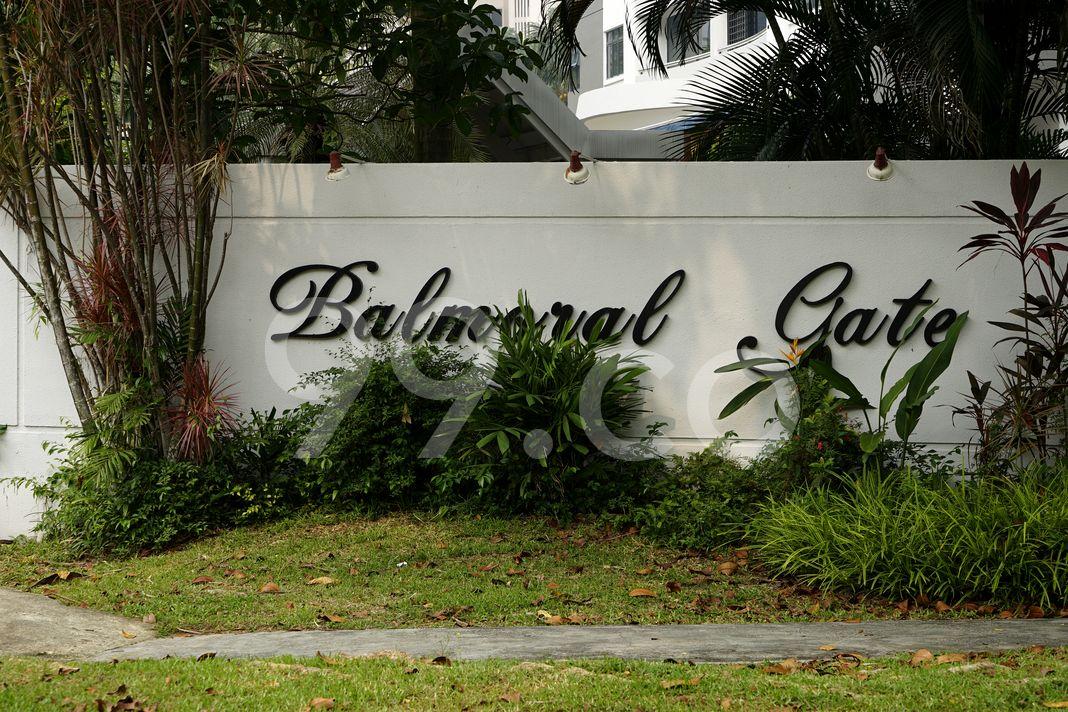 Balmoral Gate  Logo