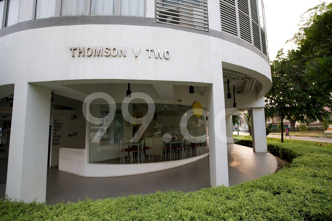 Thomson V Two  Logo
