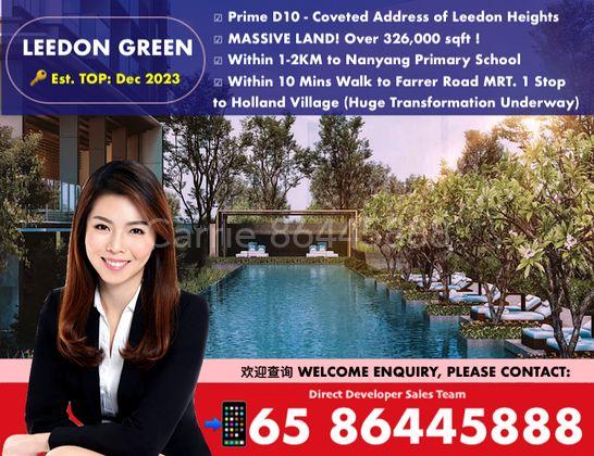 leedon green condo is a massive development with full condo facilities in singapore