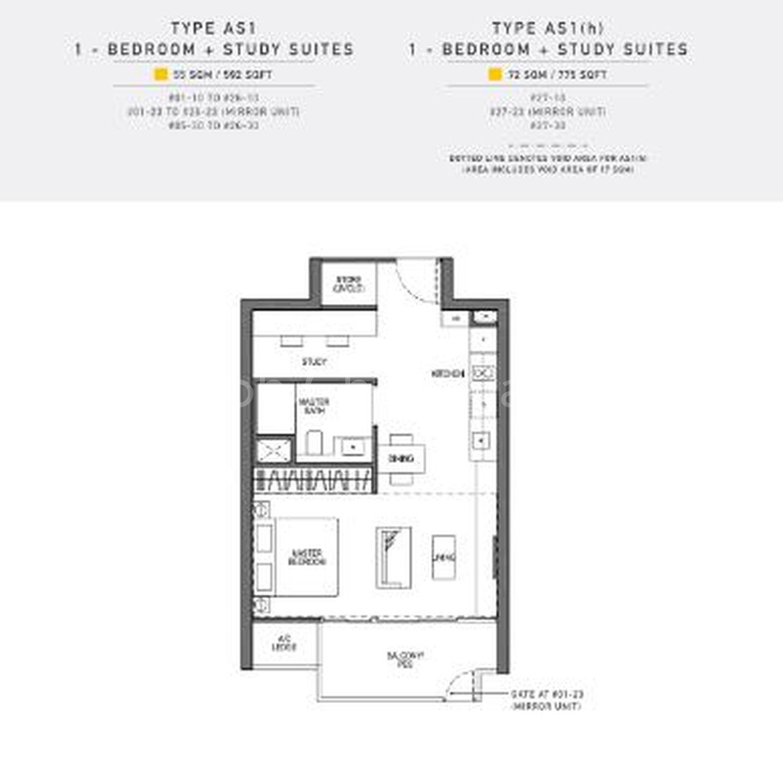 AS1 Floor Plan