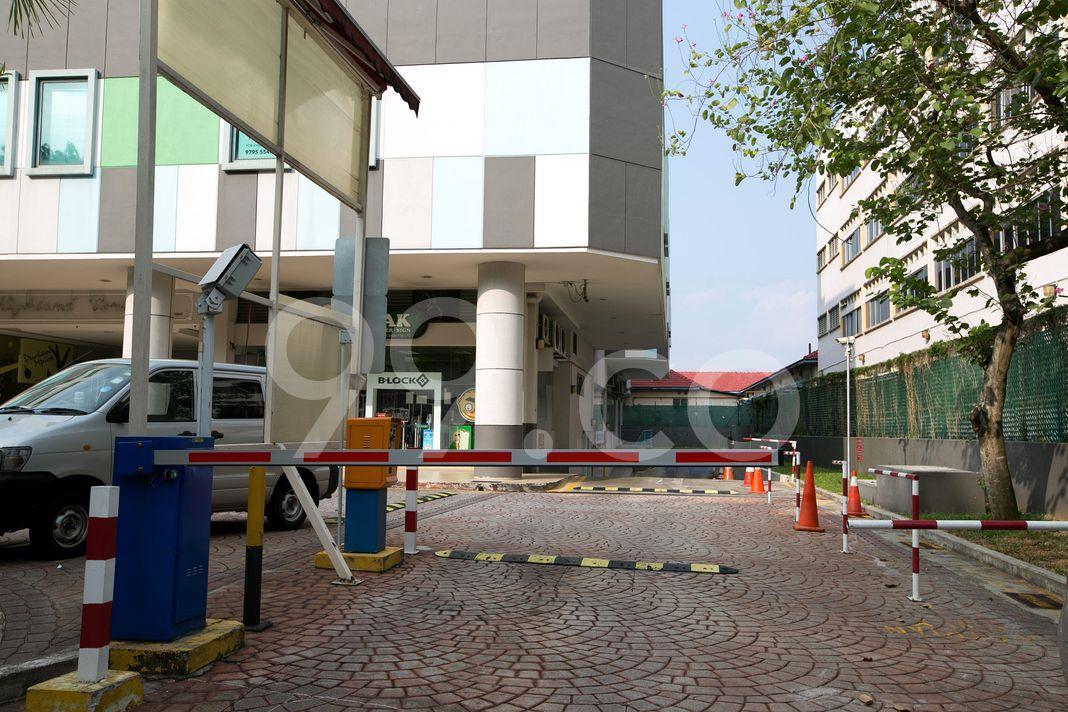 Highland Centre  Entrance
