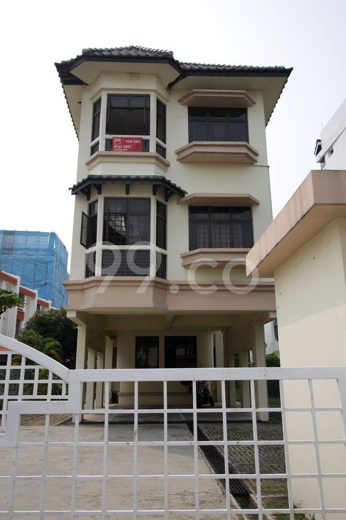 Telok Kurau Mansion  Elevation