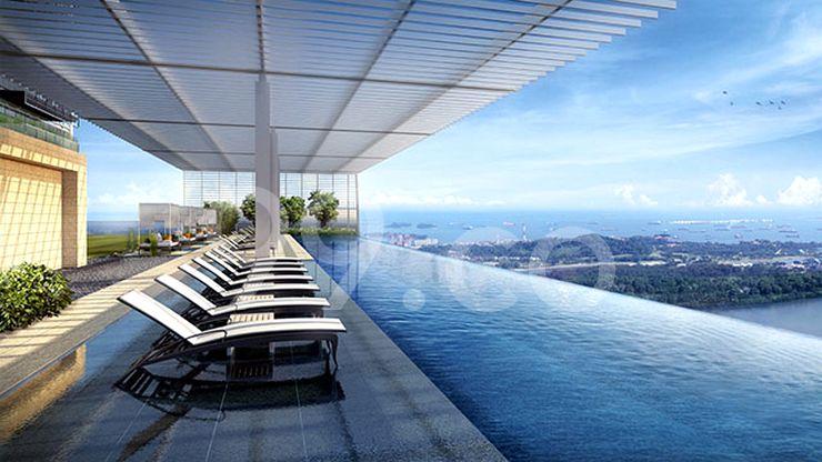 Wallich Residence Pool