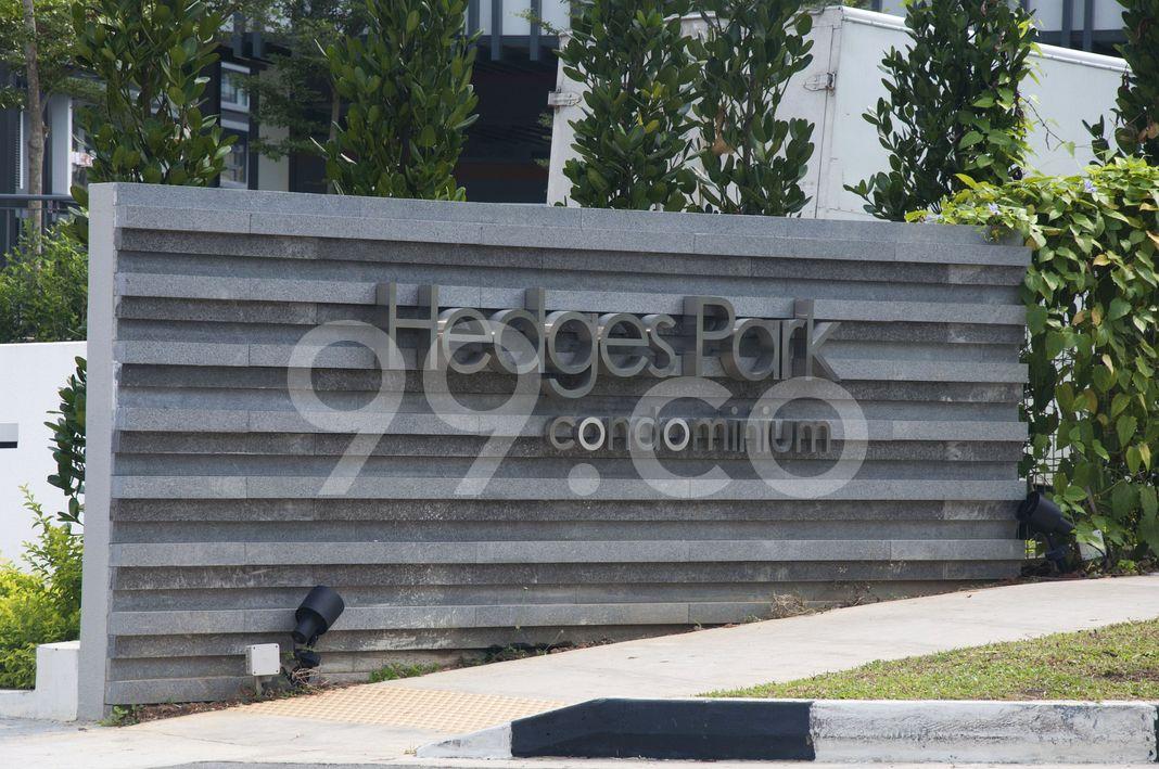 Hedges Park Condominium  Logo